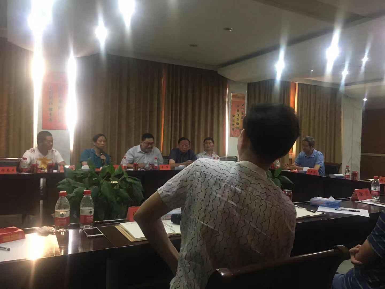 姜堰区政协经济界座谈会在华东五金城召开